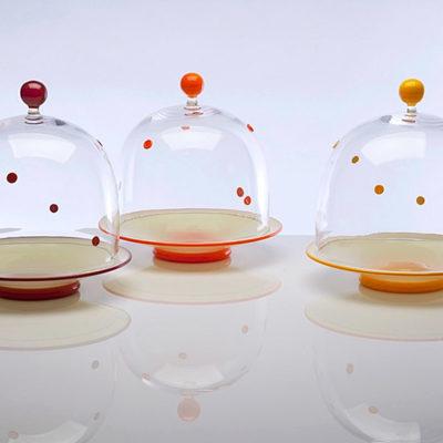 Polka Dot Covered Dishes