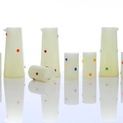 Polka Dot Pitchers & Cups