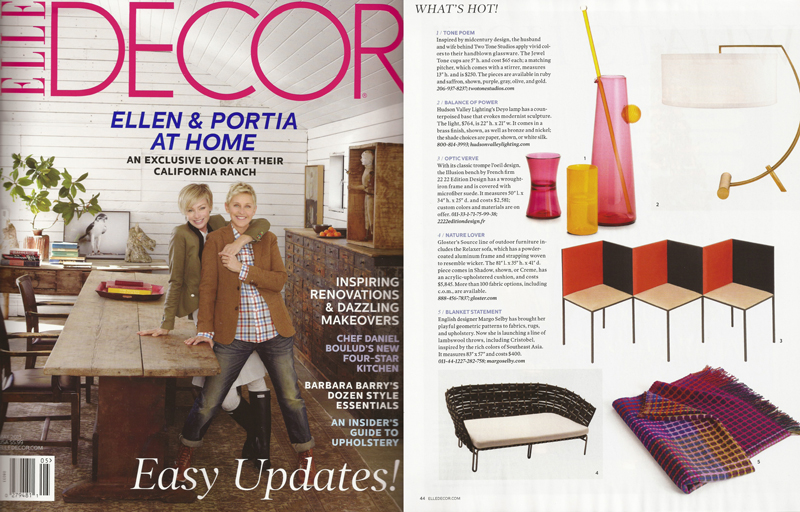 Two Tone Studios in Elle Decor